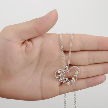 Love Heart Mom Necklace