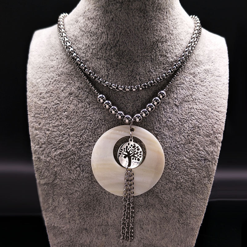 Tassel Tree of Life Necklace