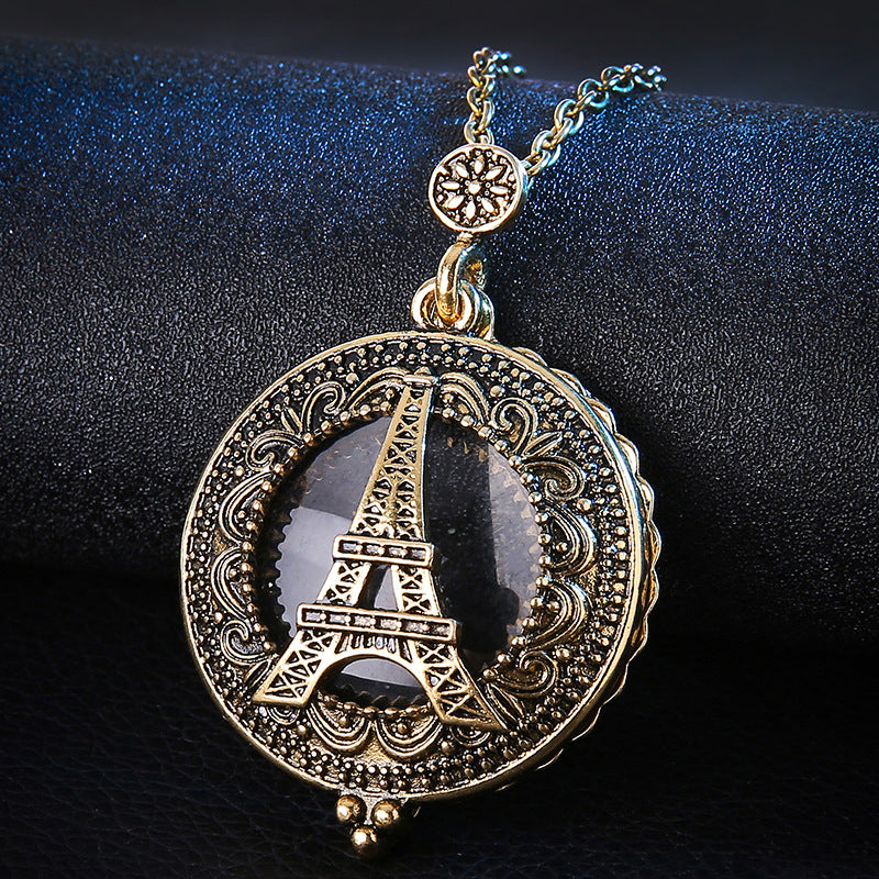 Vintage Eiffel Tower Necklace Eiffel