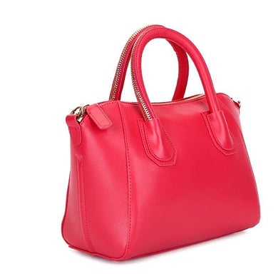 Plaxy Genuine Leather Tote