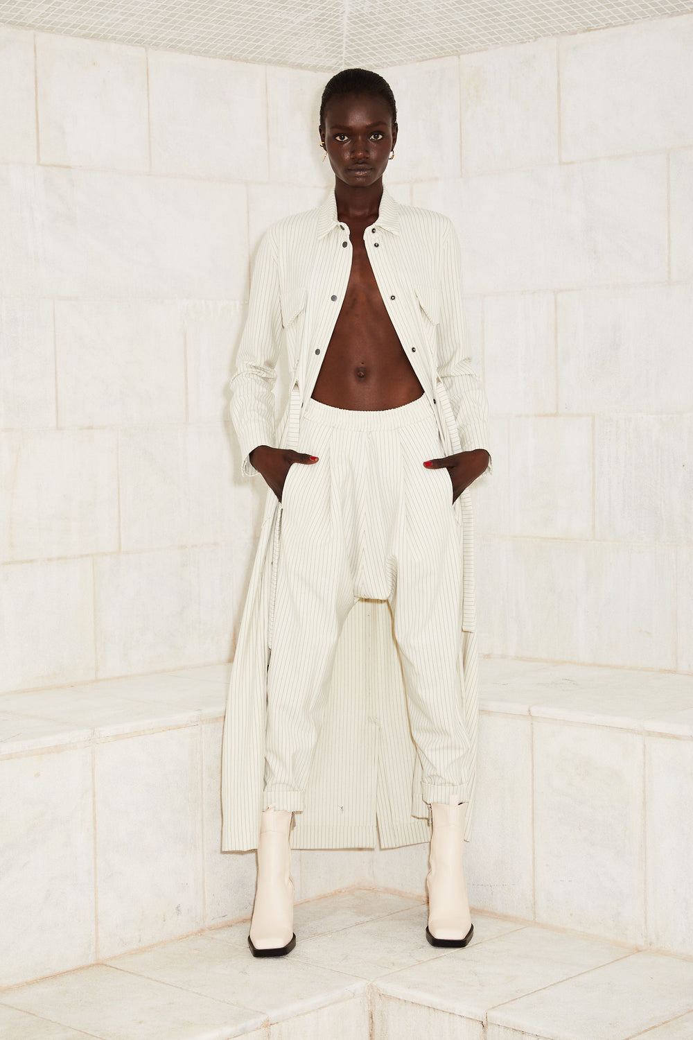 PANTS JULL- Off White