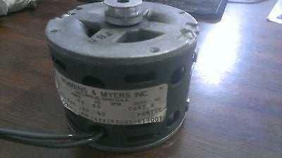K-A26-BOS, Robbins & Myers, 115V 0.6A 60Hz Motor 1/125HP 1650RPM