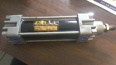Parker Pneumatic Air Cylinder  40MM Bore X 90MM Stroke Model G-B