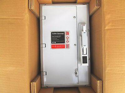 Cutler-Hammer, Heavy Duty Safety Switch, 30 AMP, 600 Volts A-c