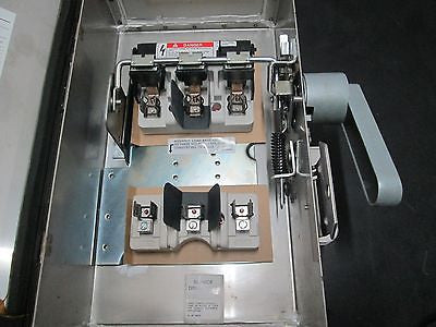 F351SS, Siemens, 30A 600V Stainless Steel Safety Switch