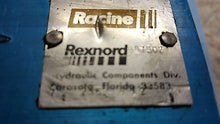 987502, 12 25625882 79, Racine, Rexnord, Pilot Operated Check Valve, Load Hold