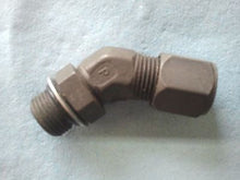 "Parker Hannifin, 1/2"" MB  x  1/2"" Female Tube 45, Fitting Tube"