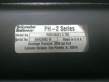 "PHD148421, Schrader Bellows, PH-2  Hydraulic Cylinder 3000PSI, 3 1/2"" x 3 3/4"""