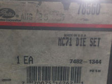 Gates, MC71 Die Set, 7482-1344, 78560