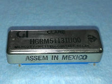 HGRM51131U00, GI, Clare, Relay, Mercury- Wetted Contract Relay, 5 Prong