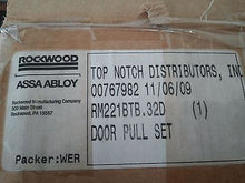 "RM221BTB.32D, Rockwood, Assa Abloy Glass Door Push/Pull Set , 14"" Long**DMR**"