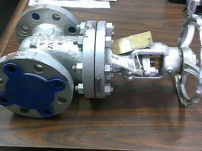 ASTM A216 WCB, Neway Gate Valve, 2, 300lbs, Raised Face End, F6A/HFlow, Emission