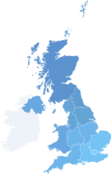 UK Snow Data: Regions of the UK with Snow on the Ground