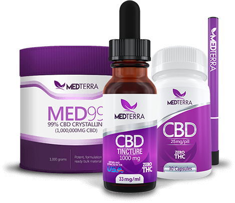 Medterra CBD oil hemp