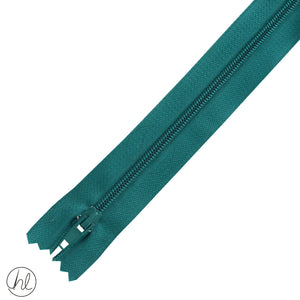 NYLON DRESS ZIPS (15CM-55CM) JADE