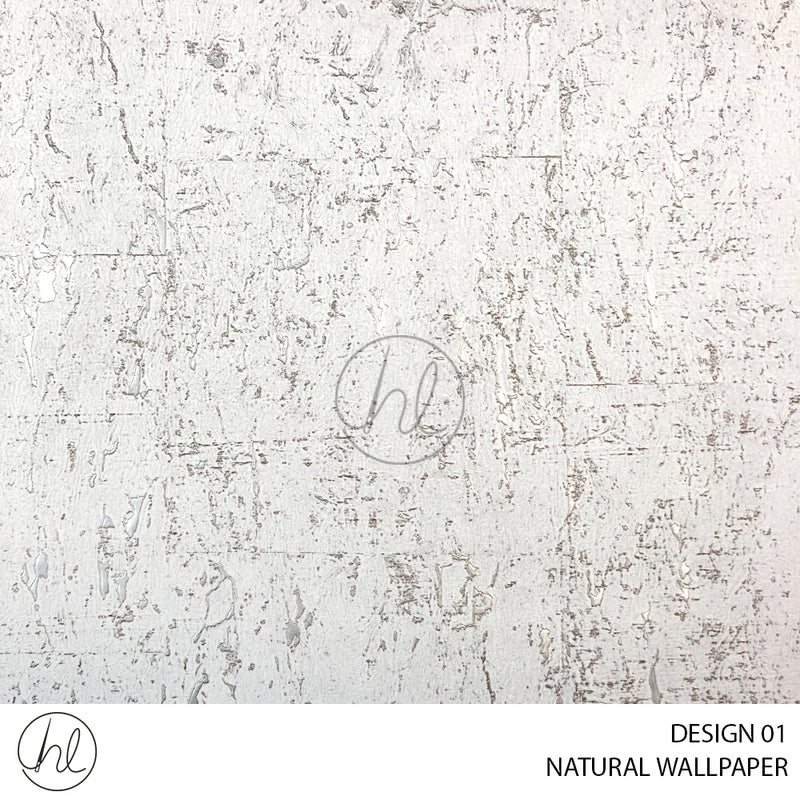 NATURAL WALLPAPER (DESIGN 01) (WD063D) (53CM X 10M) (PER ROLL)