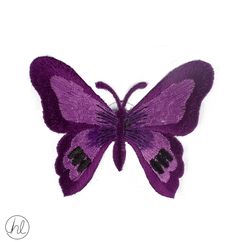 PURPLE BUTTERFLY 2 PER PACK