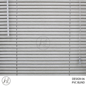 PVC BLIND WOODGRAIN (DESIGN 06) (SILVER)