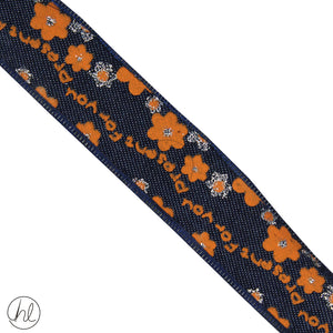 FANCY RIBBON (25MM) (P/METRE)