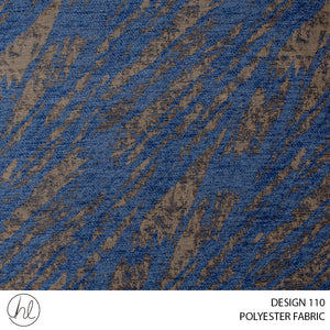 POLYESTER FABRIC (DESIGN 110) (280CM) (PER M) BROWN