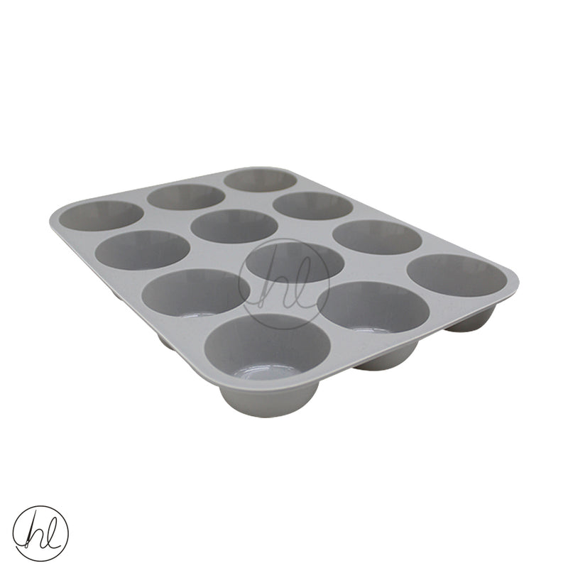 12 CUP SILICONE MUFFIN MOULD