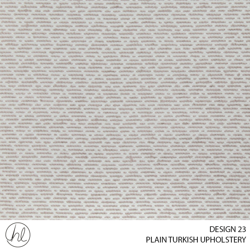 PLAIN TURKISH UPHOLSTERY (DESIGN 23) (140CM)(PER M) BEIGE