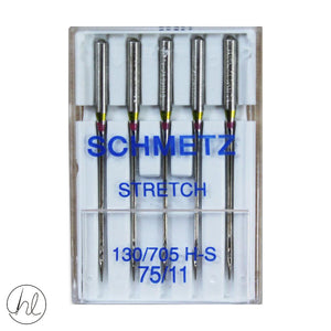 SCHMETZ STRETCH NEEDLES (130/705H) (SIZE 75/11)