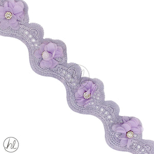 ASSORTED BRAIDING (P/METRE) LILAC
