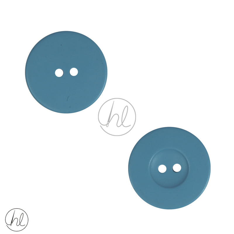 PLAIN BUTTONS LARGE SKY BLUE