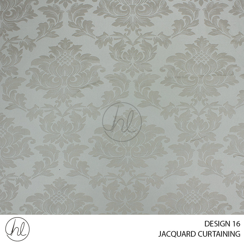 JACQUARD CURTAINING (DESIGN 16) (280CM WIDE) (PER M)