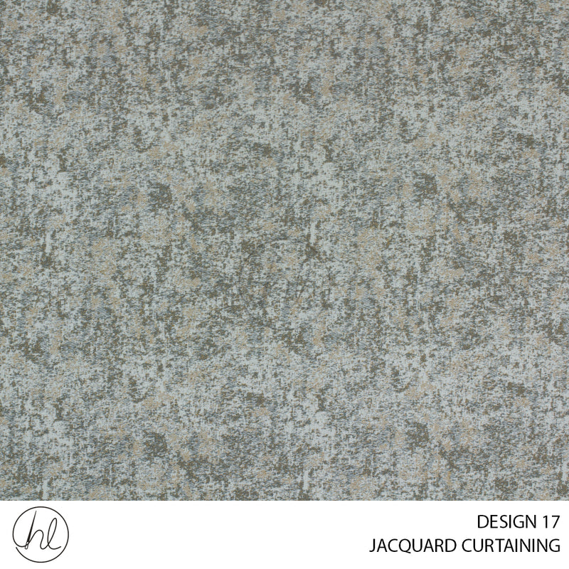 JACQUARD CURTAINING (DESIGN 17) (280CM WIDE) (PER M)
