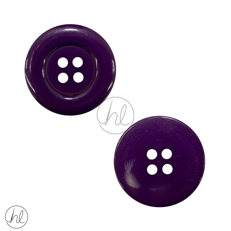 BUTTONS PLAIN LRG BD19-14 DEEP PURPLE