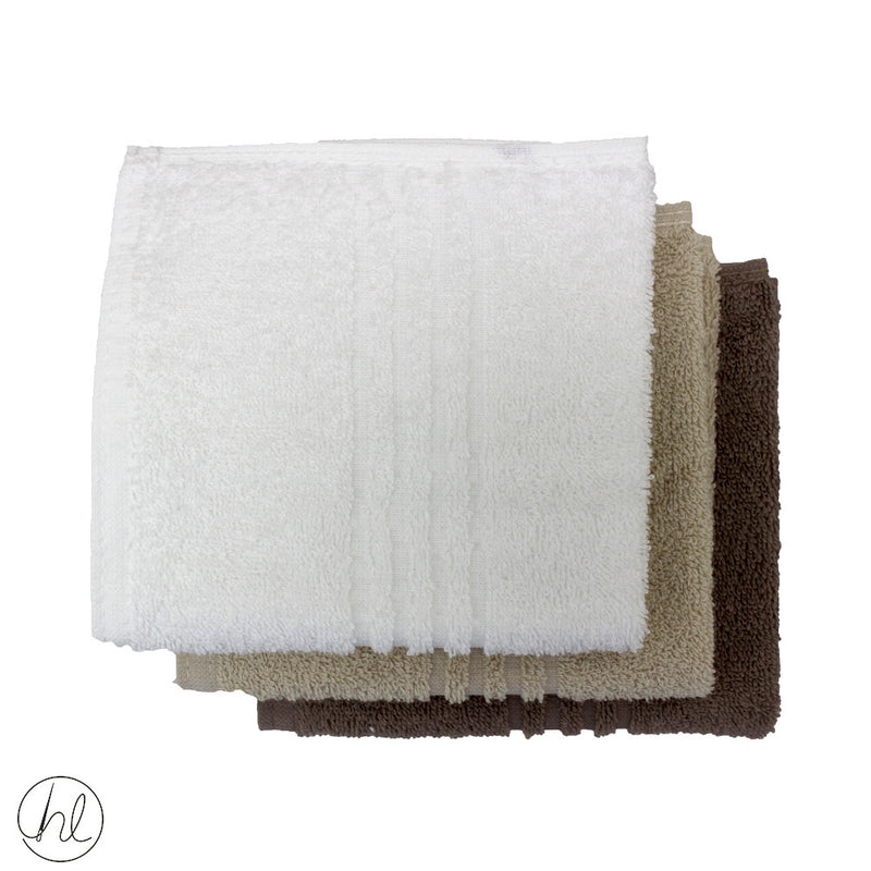 CLASSIC HOTEL COLLECTION FACE CLOTHS 30X30