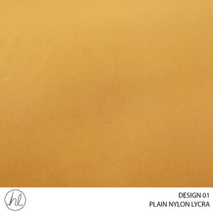 PLAIN NYLON LYCRA ( DESIGN 01 ) ( 150CM )