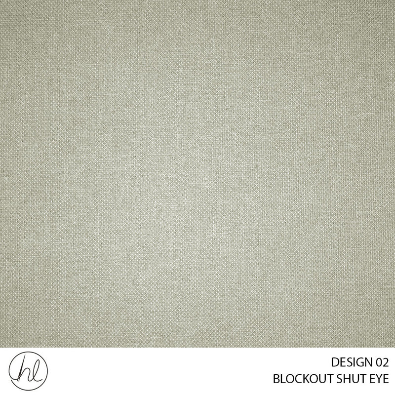 BLOCKOUT SHUT EYE  (DESIGN 02) (280CM) (PER M) BEIGE