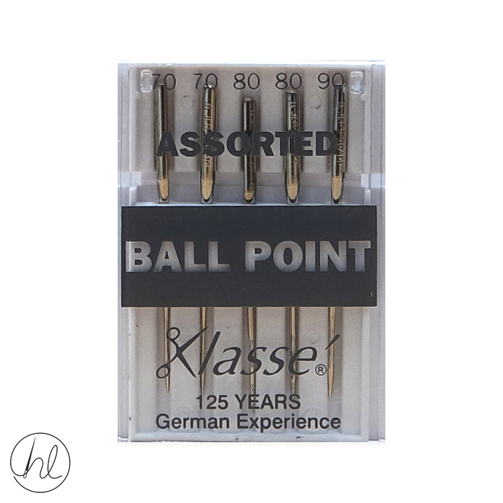 KLASSE BALLPOINT NEEDLES (SIZE - ASSORTED)