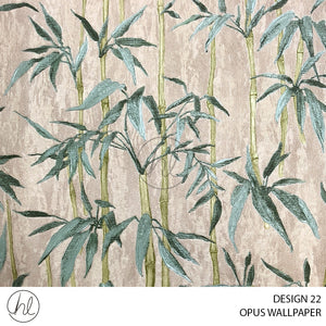 OPUS WALLPAPER (DESIGN 22) (WT005C) (106CMX10M) (PER ROLL)