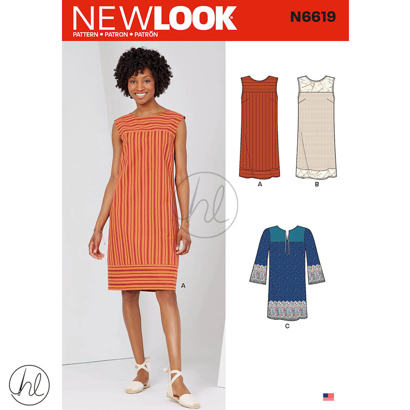 NEW LOOK PATTERNS (N6619)