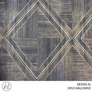 OPUS WALLPAPER (DESIGN 26) (WZ017A) (106CMX10M) (PER ROLL)