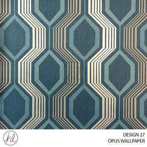 OPUS WALLPAPER (DESIGN 27) (WA012B) (53CMX10M) (PER ROLL)