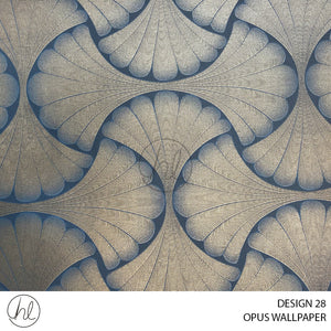 OPUS WALLPAPER (DESIGN 28) (WZ019B) (53CMX10M) (PER ROLL)