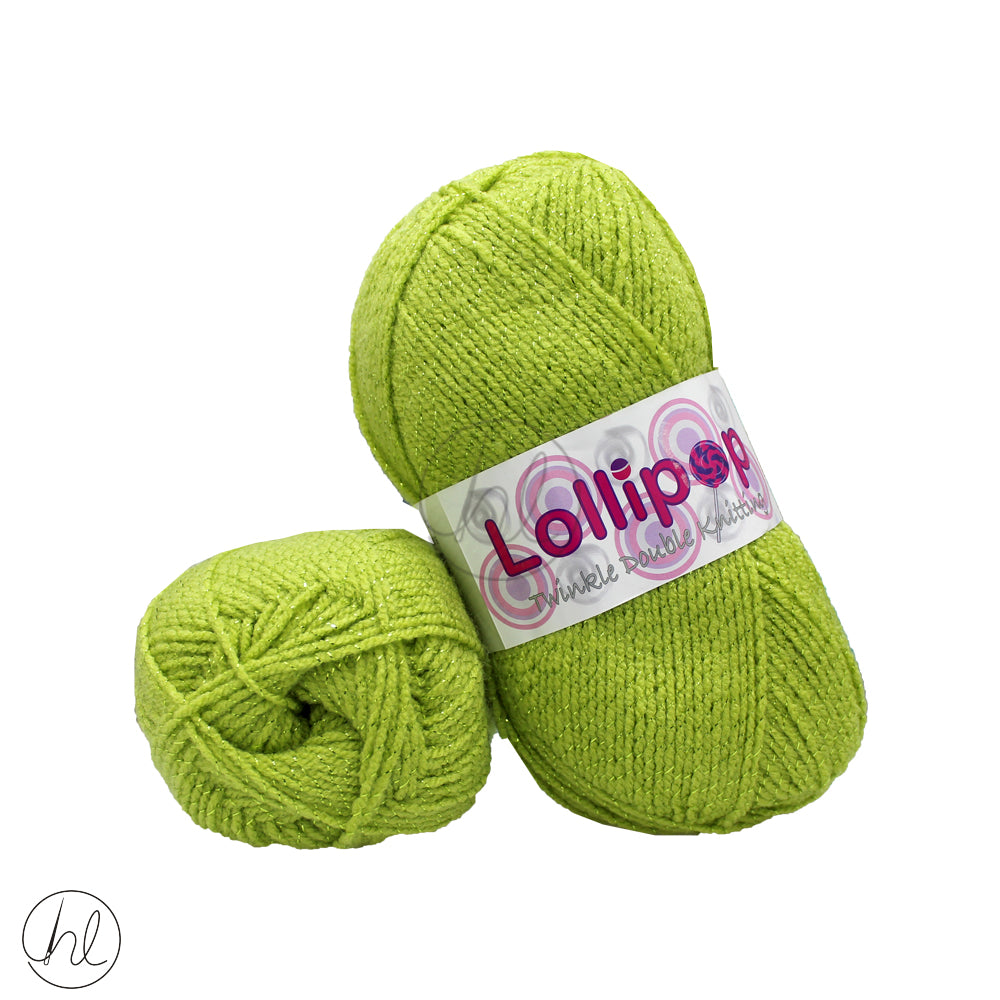 LOLLIPOP TWINKLE D.K (100G) LIME
