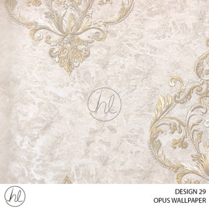 OPUS WALLPAPER (DESIGN 29) (WXX003) (106CMX15.6M) (PER ROLL)