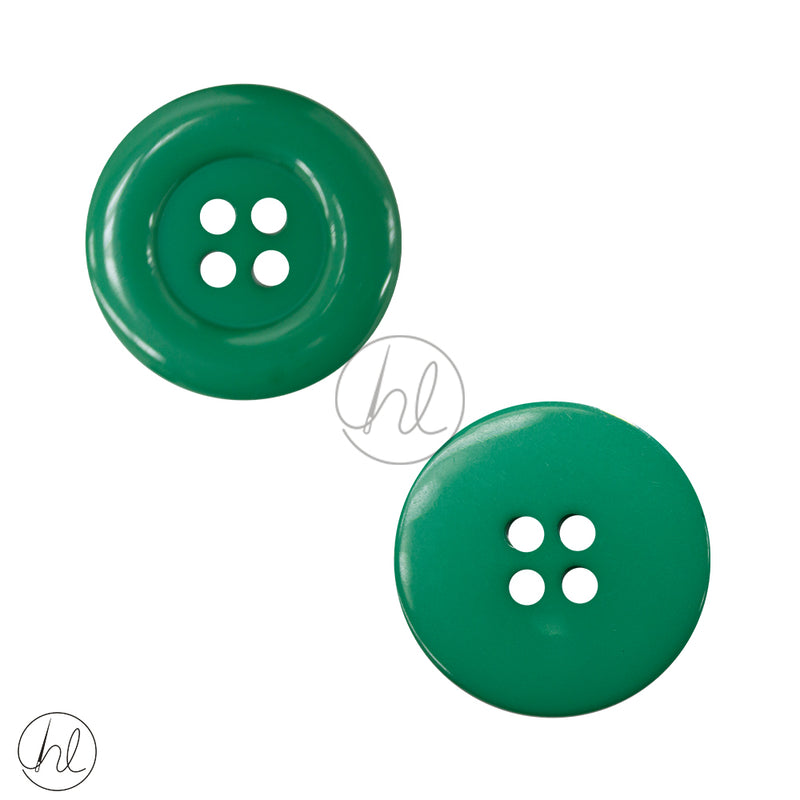 BUTTONS PLAIN LRG BD19-14 EMERALD