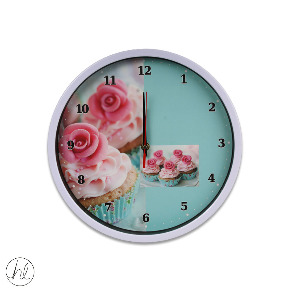 WALL CLOCK 30CM ABY-0939