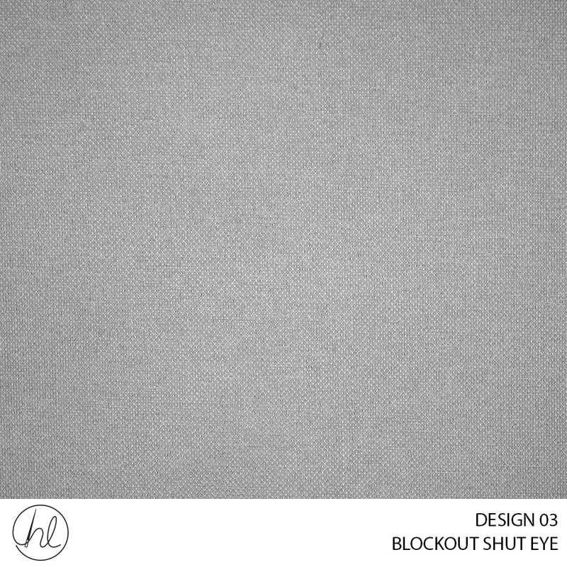 BLOCKOUT SHUT EYE  (DESIGN 03) (280CM) (PER M) WARM GREY