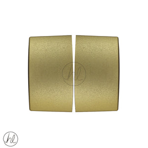 PVC END CAP (85MM) GOLD