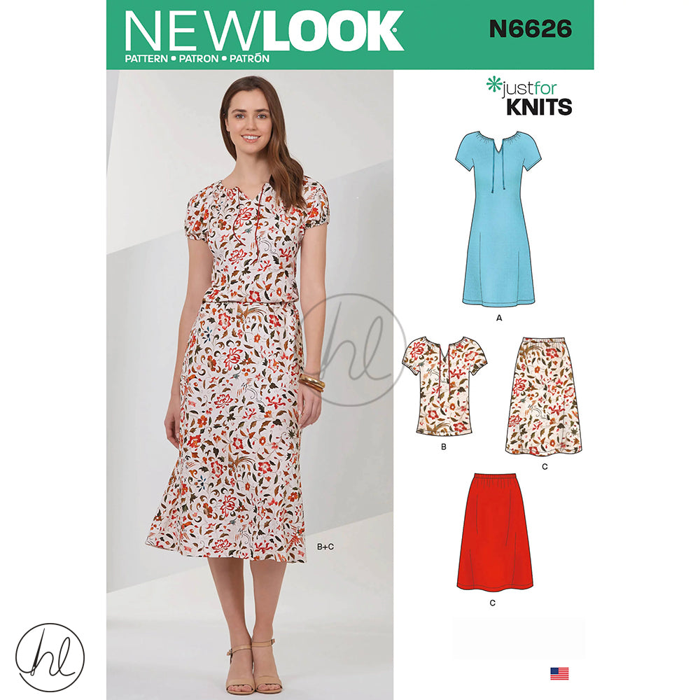 NEW LOOK PATTERNS (N6626)