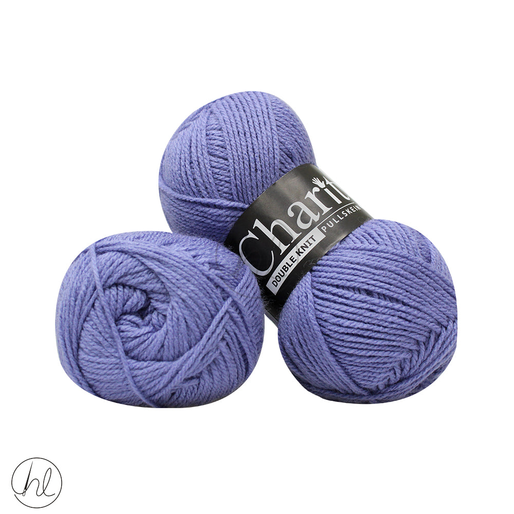 CHARITY PULLSKEIN DOUBLE KNIT 100G MAUVE
