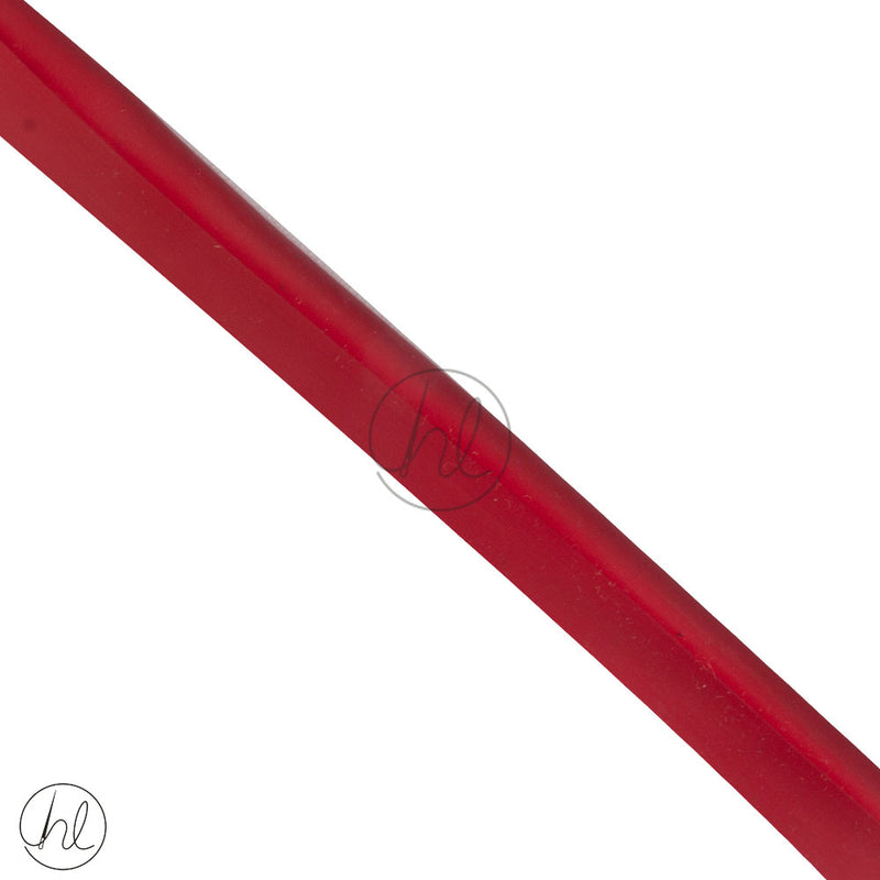 PLASTIC PIPING CORD RED 11MM (P/METER )
